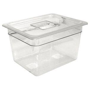 Vogue GN-Behälter 1/4 Polycarbonat - Tiefe 100 mm