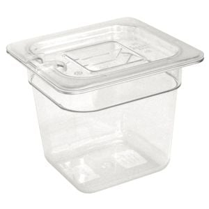 Vogue GN-Behälter 1/6 Polycarbonat - Tiefe 100 mm