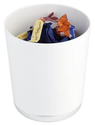 Poubelle de table ou panier à couverts APS, blanc, Ø de 13 cm, H: 15 cm