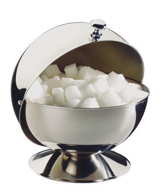 Sucrier sphérique APS n*, Boule à sucre avec couvercle roulant, Ø 13,5 cm, hauteur : 15 cm
