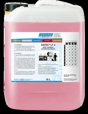 SATEC LT 3 Reiniger auf Milchsäurebasis 10L Kanister