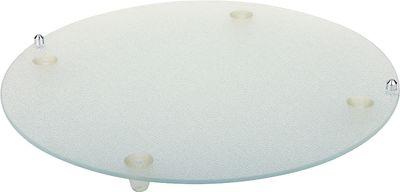 APS Buffet-Glasplatte  Ø 38 cm, H: 3 cm