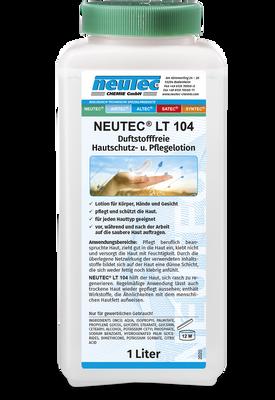 NEUTEC LT 104 HAUTSCHUTZ- und Pflegelotion, duftstofffrei 1L Flasche