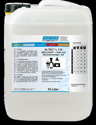 ALTEC L112 GRILLOMAT - Grill- und Backofenreiniger, Gel 10L Kanister
