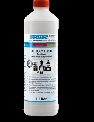 ALTEC L 260 Intensivreiniger & Fettlöser für den Lebensmittelbereich 1L Flasche