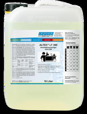 ALTEC LT 395 Flächendesinfektion QAV frei 10L Kanister