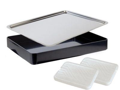 APS Buffet-Set -Focus- eckig, schwarz, 43,5 x 32,5 cm, H: 6 cm