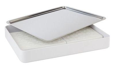Pièce de base APS -Focus- angulaire, blanche, 42,5 x 31,5 cm, H: 6 cm