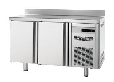 Table réfrigérée Premium 2/0 avec dosseret