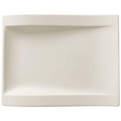 Assiette Villeroy & Boch NewWave plate rectangulaire 260x200 mm