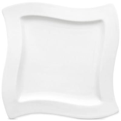 Assiette plate carrée Villeroy & Boch NewWave, 240 x 240 mm