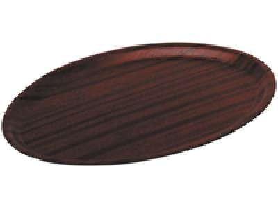 Plat de service «Woodform» ovale