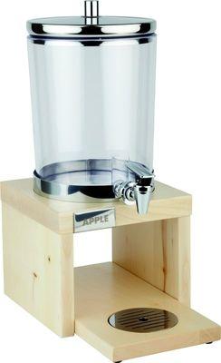 APS Saftdispenser -BRIDGE- Ahorn, 35,5x22 cm, H: 50 cm, 6 Liter