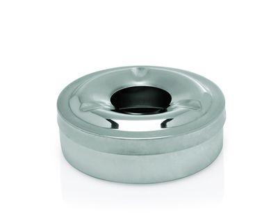 Cendrier coupe-vent - acier inoxydable brossé, 2 pièces, 11 cm