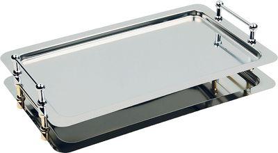 Plat empilable système GN 1/1 APS -BUFFET STAR- 53x32,5cm, hauteur utile 4 cm