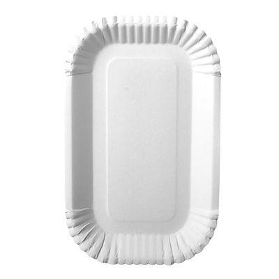 100 bols Papstar, carton «pure» carré 15 cm x 23 cm x 2 cm blanc