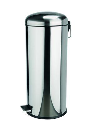Edelstahl-Treteimer, 30 Liter mit verzinktem Einsatz