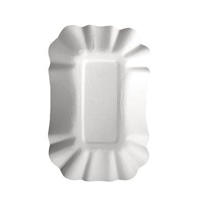 250 bols Papstar, carton «pure» carré 9 cm x 14 cm x 3 cm blanc