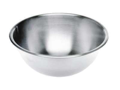Edelstahl Rührschüssel, Durchmesser 215x(H)90mm 1,75 Liter