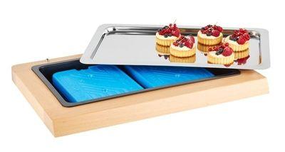 APS Kühltablett -TOP FRESH GN 1/1- Set Holz