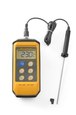 Digitales Thermometer mit Stiftsonde, 85x195x(H)45mm