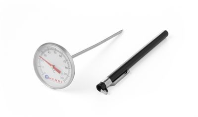 Einstechthermometer, Sonderkappe mit Klipp, Durchmesser 44,5x140mm