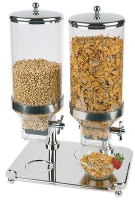 Distributeur de céréales APS -Classic- Duo, env. 35 x 50 cm, hauteur 68 cm
