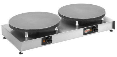 Neumärker Elektro-Crêpes-Eisen Aktiv II - 2 Kochplatten Ø 400 mm