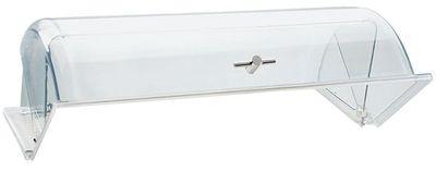 Cloche roll-top / couvercle coulissant GN 1/1 APS - poignée chromée