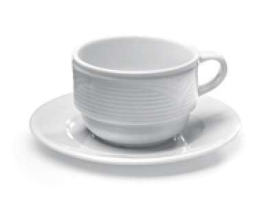 """Porzellanserie """"Saturn"""" Untertasse für Kaffeetasse 794401"""