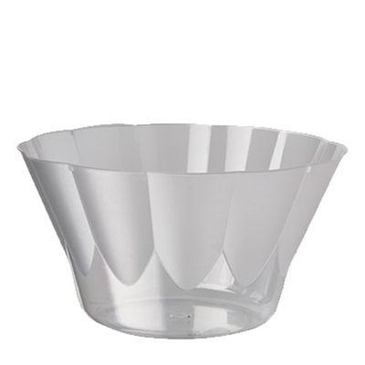 Papstar 20 Eis- und Dessertschalen, PS rund 400 ml Ø 12 cm x H: 7 cm glasklar