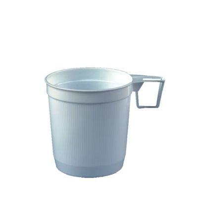 Papstar 40 Kaffeetassen, PS 0,25 l Ø 8 cm x H: 8,5 cm weiss