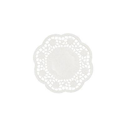 Papstar 1000 Teller- und Tassendeckchen rund Ø 10 cm weiss