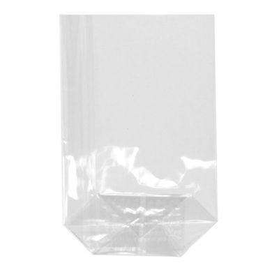 300 sachets à fond Papstar, PP, 17,3 cm x 11,5 cm x 4 cm, transparent