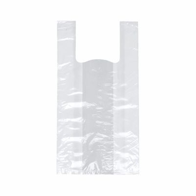 Papstar 200 Hemdchen-Tragetaschen, LDPE 50 cm x 26 cm x 16 cm weiss
