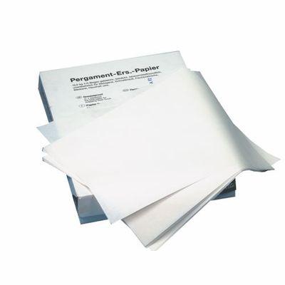 Substitut de parchemin Papstar, 1/8 de feuille 37,5 cm x 25 cm blanc à 12,5 kg, ingraissable