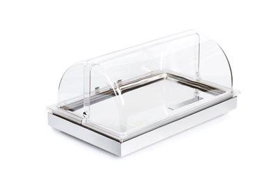 Plateau de refroidissement APS - FRAMES - set 2, avec couvercle coulissant, blanc - 53 x 32,5 cm, hauteur : 27,5 cm