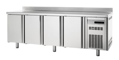 Kühltisch Premium 4/0 mit Aufkantung
