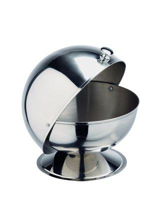 Sucrier avec couvercle à charnière, diamètre : 13cm
