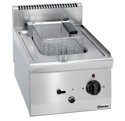 Bartscher Elektro-Fritteuse 600 Imbiss 8L - Tischgerät