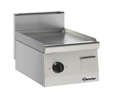 Bartscher Elektro-Grillplatte 600 Imbiss glatt 400x600