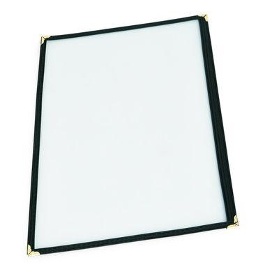 Couverture de menu en PVC, 1x côté