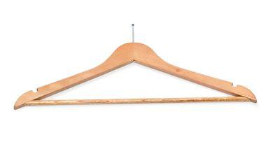Kleiderbügel Holz Safe - Rockeinkerbung