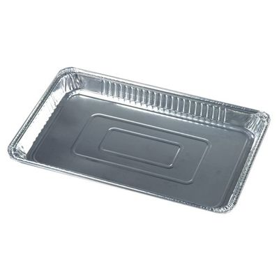 Papstar 3 Gastronorm-Behälter, Alu eckig 5,2 l 3,7 cm x 32,5 cm x 52,5 cm 1/1