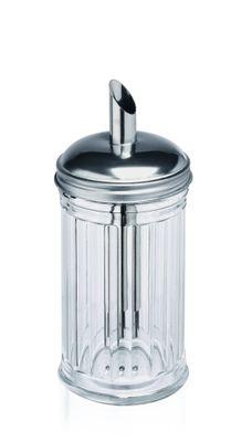 Sucrier, capacité 0,3 litre, hauteur 17cm, diamètre : 7,5cm