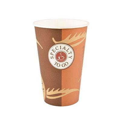 50 gobelets Papstar, carton «To Go», 0,3 l, Ø 8 cm x hauteur : 11,6 cm