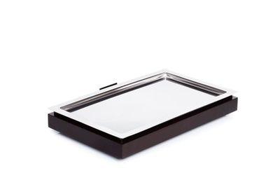 Plateau  à buffet réfrigérant APS -FRAMES- Set 1 - GN 1/1, noir - 53 x 32,5 cm, H : 8,5 cm