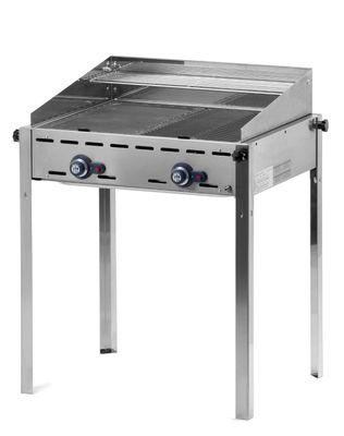 Grill à gaz Green Fire PROFI LINE – 2brûleurs
