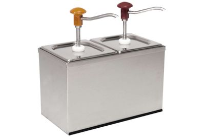 Distributeur doseur GN 1/6 - 2 x 3 litres