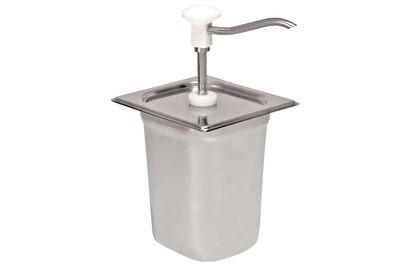 Distributeur doseur GN 1/6, blanc - 3 litres
